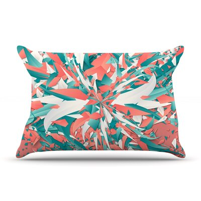 Like Explosion by Danny Ivan Featherweight Pillow Sham Size: King, Fabric: Woven Polyester