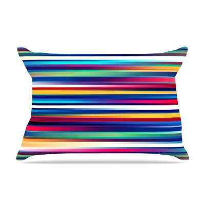 Blurry Lines by Danny Ivan Featherweight Pillow Sham Size: King, Fabric: Woven Polyester