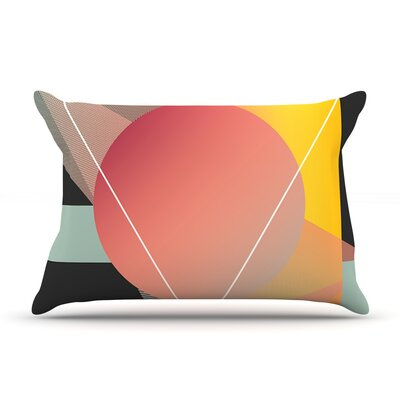 Objectum by Danny Ivan Featherweight Pillow Sham Size: Queen, Fabric: Woven Polyester
