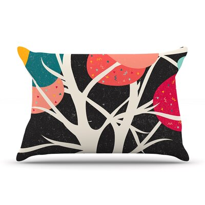 Lovely Tree by Danny Ivan Featherweight Pillow Sham Size: King, Fabric: Woven Polyester