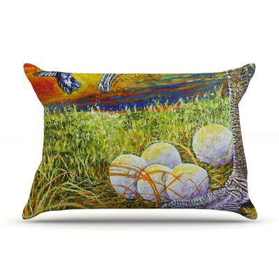 Ostrich by David Joyner Featherweight Pillow Sham Size: Queen, Fabric: Woven Polyester