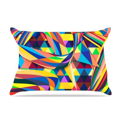 The Optimist by Danny Ivan Featherweight Pillow Sham Size: King, Fabric: Woven Polyester