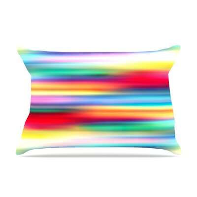 Blurry Cool by Danny Ivan Featherweight Pillow Sham Size: King, Fabric: Woven Polyester