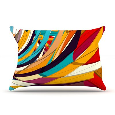 Demy World by Danny Ivan Featherweight Pillow Sham Size: Queen, Fabric: Woven Polyester