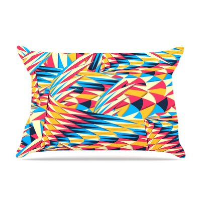Painting Life by Danny Ivan Featherweight Pillow Sham Size: King, Fabric: Woven Polyester
