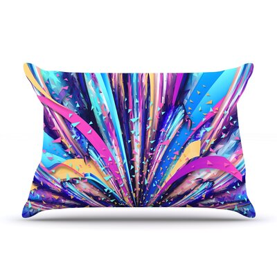 Enjoy Life by Danny Ivan Featherweight Pillow Sham Size: Queen, Fabric: Woven Polyester