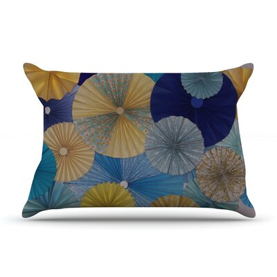 Suspension by Heidi Jennings Featherweight Pillow Sham Size: Queen, Fabric: Woven Polyester