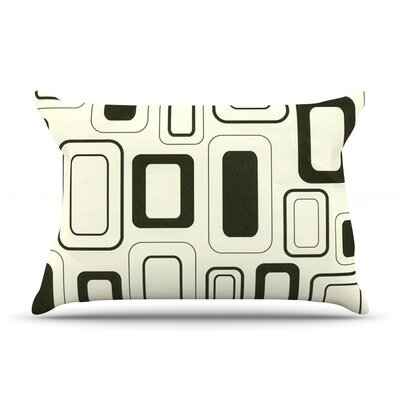 Cubes For Days by Heidi Jennings Featherweight Pillow Sham Size: Queen, Fabric: Woven Polyester