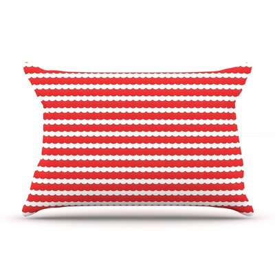 Feeling Festive by Heidi Jennings Pillow Sham Size: King, Fabric: Woven Polyester