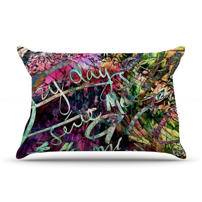 Gabriela Fuente Crazy Day Rainbow Abstract Pillow Case