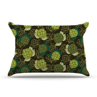 Camillia Dark by Holly Helgeson Featherweight Pillow Sham Size: King, Fabric: Woven Polyester