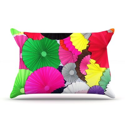 Tempting by Heidi Jennings Featherweight Pillow Sham Size: Queen, Fabric: Woven Polyester