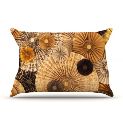 Grounded by Heidi Jennings Featherweight Pillow Sham Size: King, Fabric: Woven Polyester