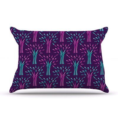 Fairy Forest by Holly Helgeson Featherweight Pillow Sham Size: Queen, Fabric: Woven Polyester