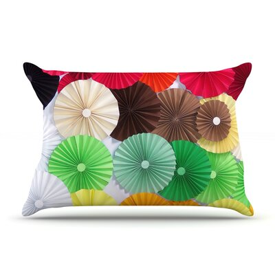 Adored by Heidi Jennings Featherweight Pillow Sham Size: Queen, Fabric: Woven Polyester