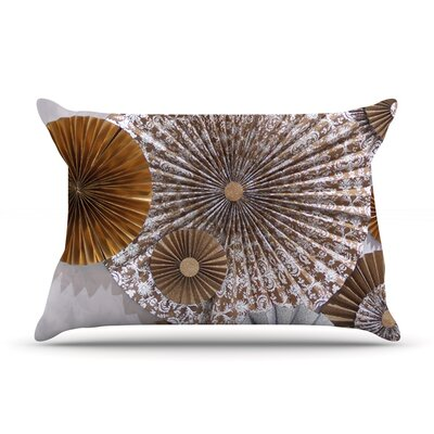 Venice by Heidi Jennings Featherweight Pillow Sham Size: Queen, Fabric: Woven Polyester