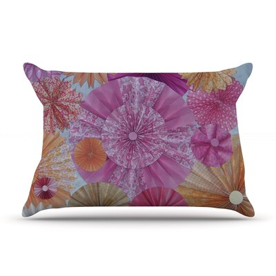Blossoming by Heidi Jennings Featherweight Pillow Sham Size: King, Fabric: Woven Polyester