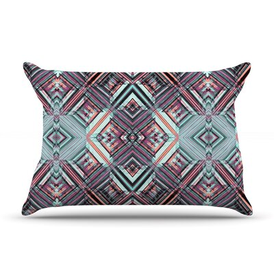 Gabriela Fuente Watercolor Caledoscope Pillow Case