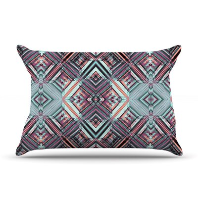 Watercolor Caledoscope by Gabriela Fuente Featherweight Pillow Sham Size: Queen, Fabric: Woven Polyester