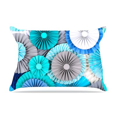 Brunch at Tiffanys by Heidi Jennings Featherweight Pillow Sham Size: King, Fabric: Woven Polyester