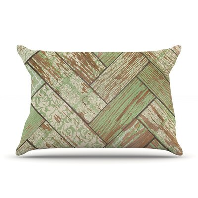 Heidi Jennings Patina Wood Pillow Case