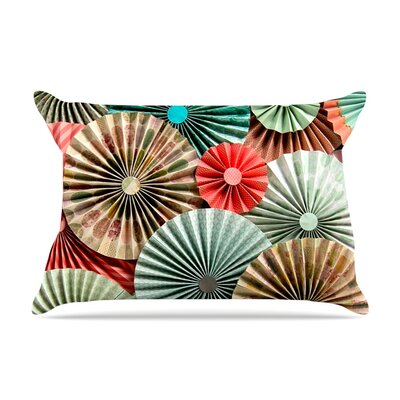 Sherbert by Heidi Jennings Featherweight Pillow Sham Size: King, Fabric: Woven Polyester