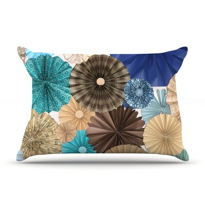 Day At The Beach by Heidi Jennings Featherweight Pillow Sham Size: King, Fabric: Woven Polyester