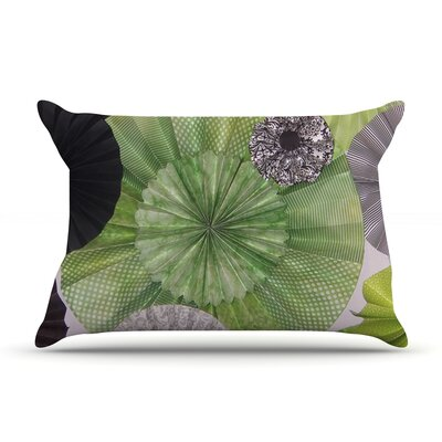 Heidi Jennings Serenity Green Grey Featherweight Sham Size: Queen, Fabric: Woven Polyester