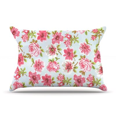 Petals Forever by Heidi Jennings Featherweight Pillow Sham Size: King, Fabric: Cotton