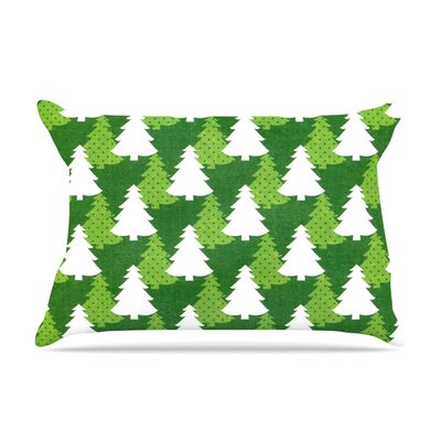 Pine Forest by Heidi Jennnings Featherweight Pillow Sham Size: Queen, Fabric: Woven Polyester