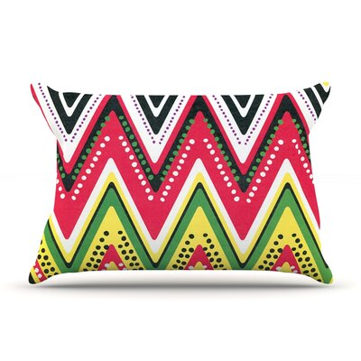 Jamaican Me Crazy by Heidi Jennings Featherweight Pillow Sham Size: Queen, Fabric: Woven Polyester