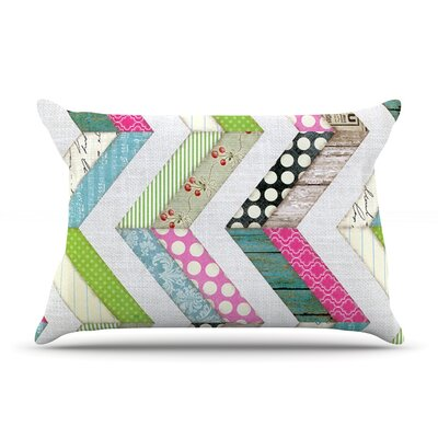 Fabric Much? by Heidi Jennings Featherweight Pillow Sham Size: King, Fabric: Woven Polyester