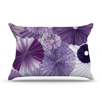 Lavender Wishes by Heidi Jennings Featherweight Pillow Sham Size: King, Fabric: Woven Polyester