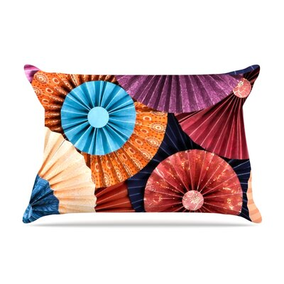 Moroccan by Heidi Jennings Featherweight Pillow Sham Size: Queen, Fabric: Woven Polyester