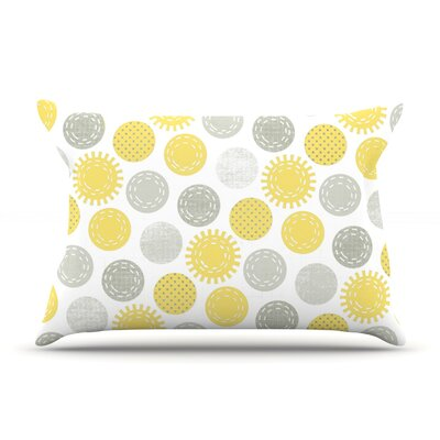 Sunspot by Heidi Jennings Featherweight Pillow Sham Size: Queen, Fabric: Woven Polyester