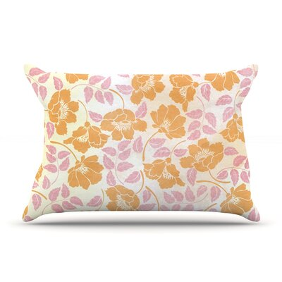 Sun Kissed Petals by Heidi Jennings Featherweight Pillow Sham Size: King, Fabric: Woven Polyester