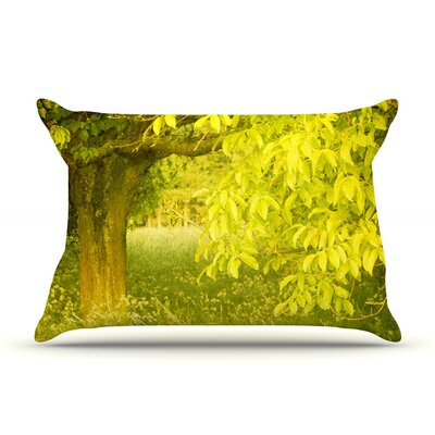 Summer by Iris Lehnhardt Featherweight Pillow Sham Size: Queen, Fabric: Woven Polyester