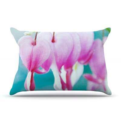 Dicentra by Iris Lehnhardt Featherweight Pillow Sham Size: King, Fabric: Woven Polyester