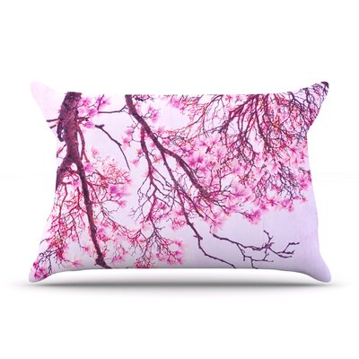 Iris Lehnhardt Magnolia Trees Branches Pillow Case
