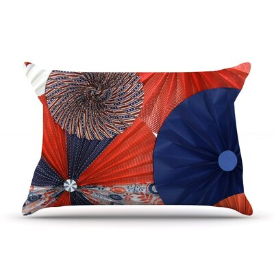 Liberty by Heidi Jennings Featherweight Pillow Sham Size: Queen, Fabric: Woven Polyester