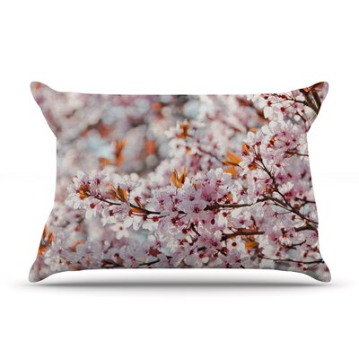 Iris Lehnhardt 'Flowering Plum Tree' Blossoms Pillow Case