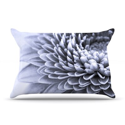 A Flower by Iris Lehnhardt Featherweight Pillow Sham Size: Queen, Fabric: Woven Polyester
