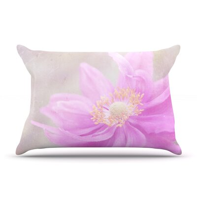 Wind Flower by Iris Lehnhardt Featherweight Pillow Sham Size: King, Fabric: Woven Polyester