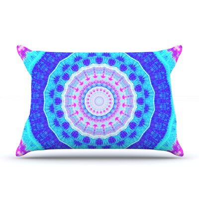 Summer Colors by Iris Lehnhardt Featherweight Pillow Sham Size: King, Fabric: Woven Polyester