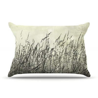 Summer Grasses by Iris Lehnhardt Featherweight Pillow Sham Size: King, Fabric: Woven Polyester