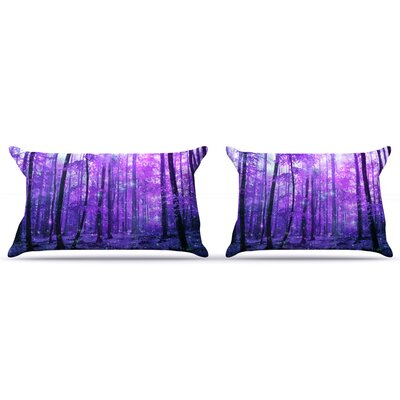 Iris Lehnhardt Magic Woods Forest Pillow Case