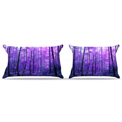 Magic Woods by Iris Lehnhardt Featherweight Pillow Sham Size: King, Fabric: Woven Polyester