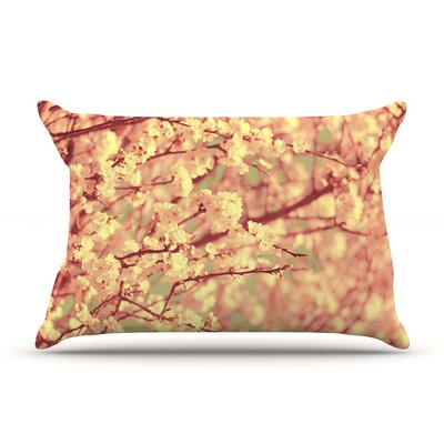 Vintage Blossoms by Ingrid Beddoes Featherweight Pillow Sham Size: Queen, Fabric: Woven Polyester