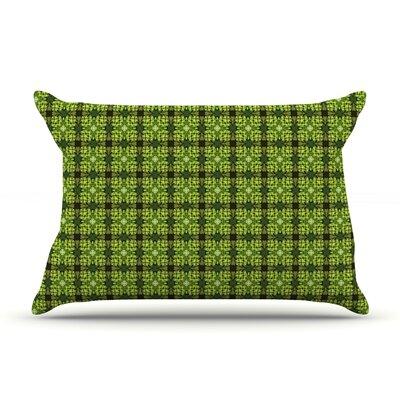 Matthias Hennig Floral Floral Geometric Pillow Case