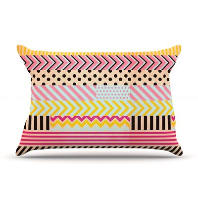 Decorative Tape by Louise Machado Featherweight Pillow Sham Size: King, Fabric: Woven Polyester